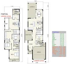 duplex floor plan narrow lot plans modular home row house lo