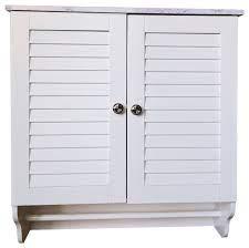 corolla wall mounted bathroom storage
