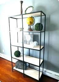 altra bookcase metal ladder gold bookshelf shelf set of 2 black quinton point with glass doors altra bookcase
