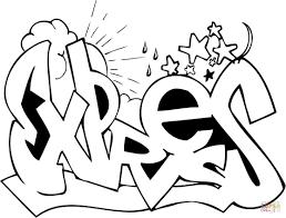 Disegno Di Graffito King Da Colorare Disegni Da Colorare E Con