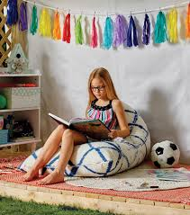 How to make a bean bags Toss Joann Fabrics How To Make Tie Dyed Bean Bag Chair Joann