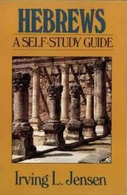 Jensen Bible Study Charts Hebrews Irving L Jensen 9780802444608
