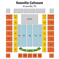 Knoxville Coliseum Seating Chart Sturgill Simpson W Tyler Childers Knoxville Tickets