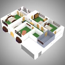 House Interior For Poser D Models VanishingPoint - 3d house interior