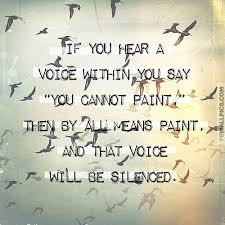 Vincent Van Gogh Quotes Fascinating Silencing The Voice Of Negativity Vincent Van Gogh Inspiring Quote