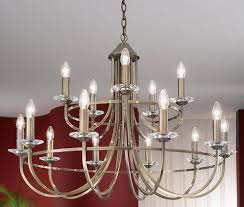 franklite carousel large soft bronze finish 15 light chandelier