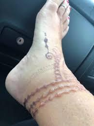 неприятные последствия татуировки хной Kykyryzo