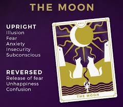 The moon is a symbol of dreams, intuitions, higher consciousness, and spiritual wisdom. What Does The Moon Card Mean Online Tarot Readings