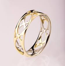 interesting wedding rings. Interesting Wide Engagement Rings At Gold Wedding Band Two Tone