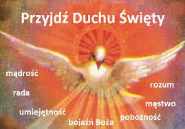 Znalezione obrazy dla zapytania uroczystość zesłania ducha świętego