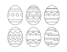 Easter Egg Template Printable Printable Template Calendar