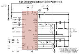ltc bidirectional polyphase reg synchronous buck or boost ltc3871 typical application