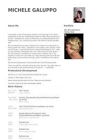 hair stylist resume sles