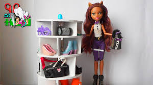 Rotazione scarpiera mobili per bambole di cartone muza