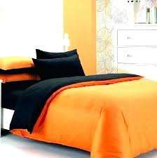 orange and blue duvet cover orange duvet cover queen hot fashion cotton solid black and