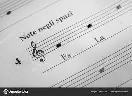 Treble Clef Music Sheet Music Sheet Background Stock Photo Maior 134578354
