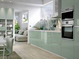 ikea kitchen lighting ideas. a medium size kitchen with light green highgloss doors and drawers combined stainless ikea lighting ideas x