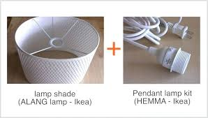 lamp and pendant kit ikea shades for floor lamps easy with shade