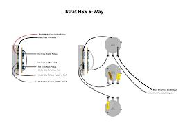 fender hss strat wiring wiring diagram show