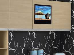 Tv In Kitchen Tv For Kitchen Cabinet