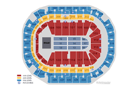 Verizon Center Seating Chart For Hockey Seating Maps American Airlines Center