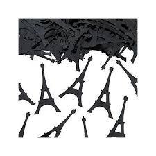 Confettis de table Tour Eiffel (par 100) - Les Couleurs du Mariage ...