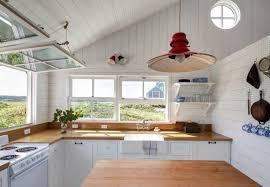 falmouth beach cottage kitchen
