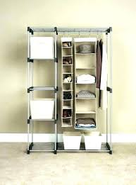 no closet solutions clothes storage ideas for bedroom bedroo