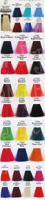 Manic Panic Hair Color Chart Manic Panic Hair Dye Chart Hair Colar And Cut Style