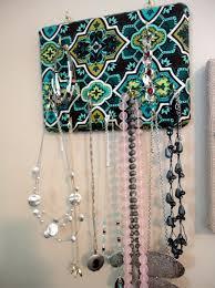 Jewelry Organizer Wall Diy Wall Mounted Jewelry Organizer Home Design Ideas
