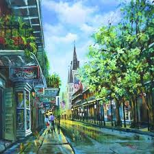 chartres afternoon a beautiful new orleans scene by dianne parks available through new orleans artposters