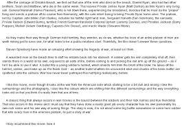 saving private ryan at com essay on saving private ryan