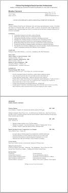 clinical psychologist resume template great resume templates click on image to enlarge