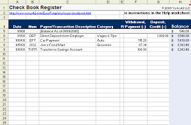 excel checkbook checkbook register template for excel from vertex2 i love this site