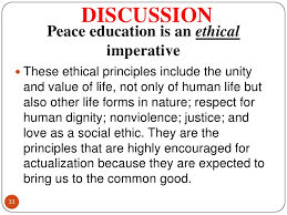 peace education  33