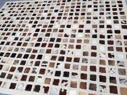 cow hide wool rug cleaned devine rug care