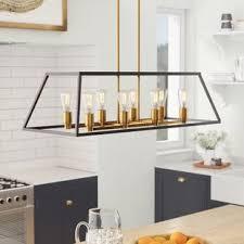 Pendant lighting for kitchen islands Led Shisler 8light Kitchen Island Pendant Birch Lane Kitchen Island Pendants Birch Lane