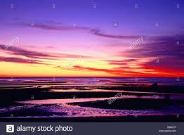 Skaket Beach Orleans Ma Tide Chart Tidal Flats At Low Tide At Skaket Beach Sunset Stock Photo