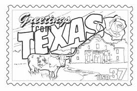 Texas Coloring Sheets Texas Coloring Pages The Incredible Texas
