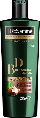 <b>Шампунь TRESEMME Botanique</b> Detox – купить в сети магазинов ...