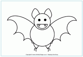 Small Picture Coloring Pages Of Bats Simple Click The Bat Coloring Pages With