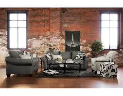 the bricks furniture. Interesting Red Bricks Wall Feat French Eiffel Tower Photo Frame With Dark Gray Sofa Value City The Furniture M