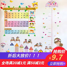 The international phonetic alphabet definition: A Chinese Phonetic Alphabet Consonant Vowel Grade Pupils Overall Recognition Syllable Arranged Classroom Wall Stickers