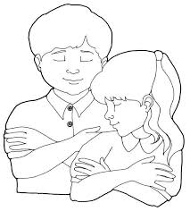 Lds Boy Praying Coloring Page Images Pictures Becuo Primary