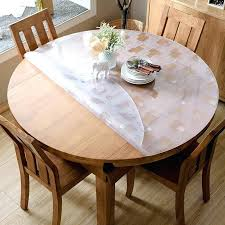 15mm fl tablecloth transpa table protector cover waterproof dining room table cloth dining room seat covers