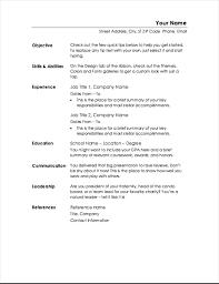 Functional Resume Minimalist Design
