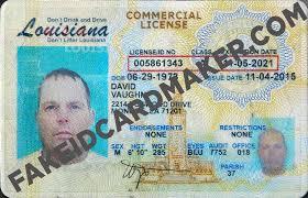 Virtual License Id Fake Maker Louisiana Drivers Card -