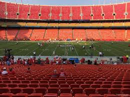 Arrowhead Stadium Section 119 Rateyourseats Com