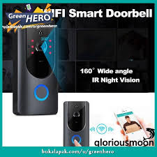 Home & Garden Doorbells Wireless <b>WiFi DoorBell Smart</b> Video ...