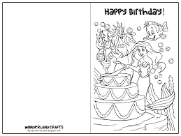 Black And White Birthday Cards Printable Print Birthday Card Girl Download Them Or Print